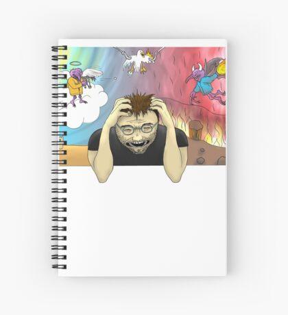 Torment Spiral Notebook