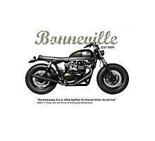 Bonneville Photographic Print