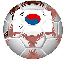 South Korea Soccer Ball by kwg2200