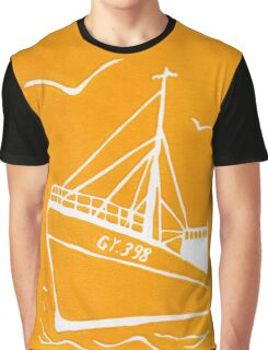 Ross Tiger in Yellow Graphic T-Shirt
