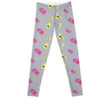 Icecream in yellow and pink Leggings