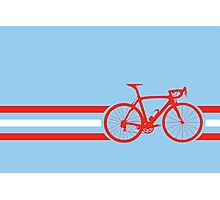 Bike Stripes Austria v2 Photographic Print