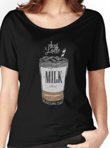 Iced Latte Coffee Women's Relaxed Fit T-Shirt