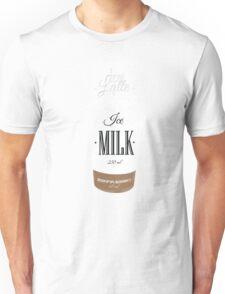 Iced Latte Coffee Unisex T-Shirt