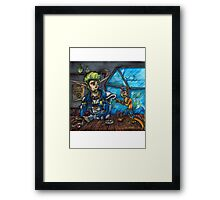 Jak X Framed Print