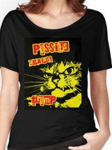 Meow Pussies against Trump Women's Relaxed Fit T-Shirt