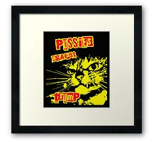 Meow Pussies against Trump Framed Print