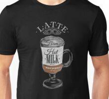Latte Coffee Unisex T-Shirt