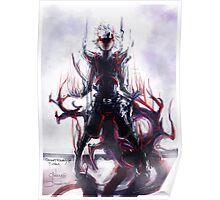 Black Centipede Poster