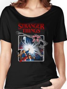 Stranger Things Animated Series Women's Relaxed Fit T-Shirt