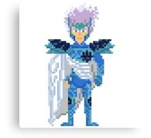 Crystal Saint - Saint Seya Pixel Art Canvas Print