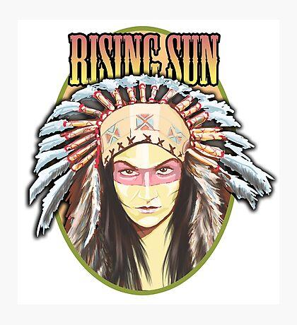 Indian - Rising Sun Photographic Print