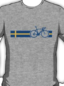 Bike Stripes Swedish National Road Race T-Shirt