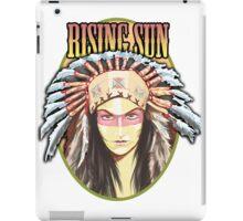 Indian - Rising Sun iPad Case/Skin