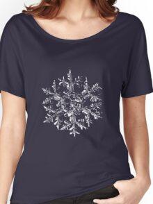 Snowflake vector - Gardener's dream black version Women's Relaxed Fit T-Shirt