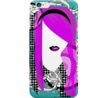Emo Girl Graphic iPhone Case/Skin