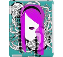 Emo Girl Graphic iPad Case/Skin