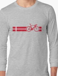 Bike Stripes Danish National Road Race Long Sleeve T-Shirt