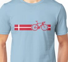 Bike Stripes Danish National Road Race Unisex T-Shirt