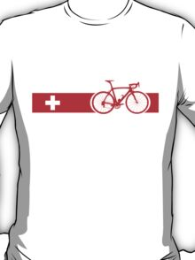 Bike Stripes Switzerland T-Shirt