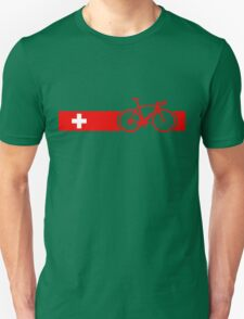 Bike Stripes Switzerland Unisex T-Shirt