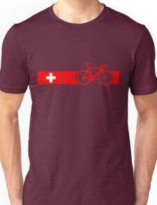 Bike Stripes Switzerland Unisex T-Shirt