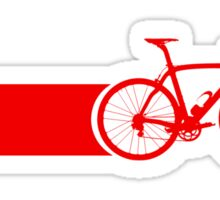 Bike Stripes Switzerland Sticker