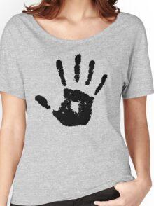 The Elder Scrolls - Dark Brotherhood Symbol (Black) Women's Relaxed Fit T-Shirt