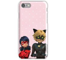 Miraculous Ladybug- Pink Polkadot iPhone Case/Skin
