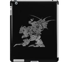 °FINAL FANTASY° Final Fantasy VI B&W Logo iPad Case/Skin
