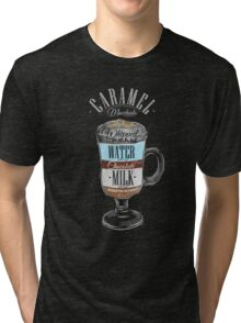 Caramel Macchiato Coffee Tri-blend T-Shirt