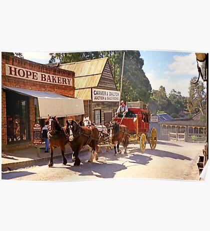 Hope Bakery - Sovereign Hill Poster