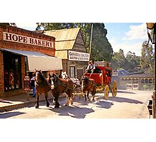 Hope Bakery - Sovereign Hill Photographic Print