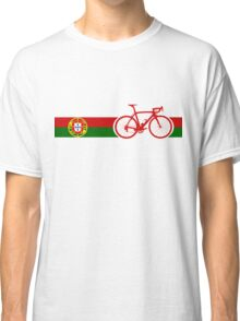 Bike Stripes Portugal  Classic T-Shirt