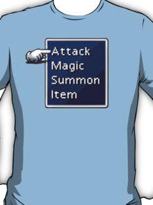 Final Fantasy Menu T-Shirt