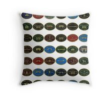 Canal plaques 1 Throw Pillow