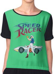speed racer Chiffon Top