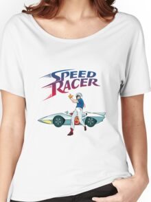 speed racer Women's Relaxed Fit T-Shirt