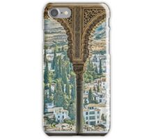Nasrid View - The Alhambra - Granada - Spain iPhone Case/Skin