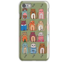 Party Of Cats iPhone Case/Skin