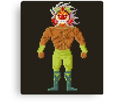 Guilty - Saint Seya Pixel Art Canvas Print