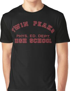 Twin Peaks High School Phys. Ed. Dept. Graphic T-Shirt