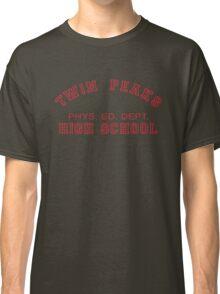 Twin Peaks High School Phys. Ed. Dept. Classic T-Shirt