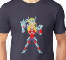 Merak Beta Hägen - Saint Seya Pixel Art Unisex T-Shirt