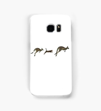 Three kangaroos? Samsung Galaxy Case/Skin