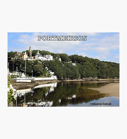 Portmeirion. Photographic Print
