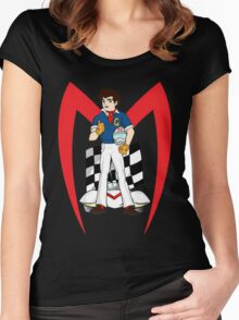 speed racer Women's Fitted Scoop T-Shirt