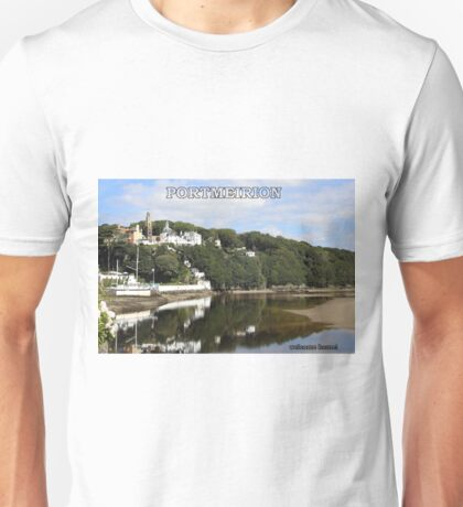 Portmeirion. Unisex T-Shirt