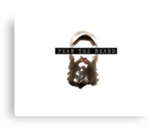 BB16 Donny - Fear The Beard Canvas Print