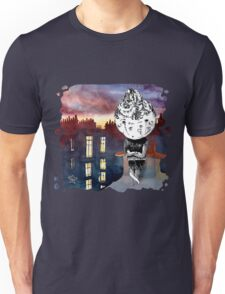 Celery Contemplating the Midnight City - art from Karambola Unisex T-Shirt